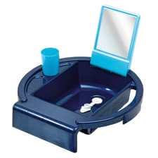 "Children sink ""Kiddy Wash"" - * With the children's sink ""Kiddy Wash"", your little darling to practice daily hygiene* In two different colors"