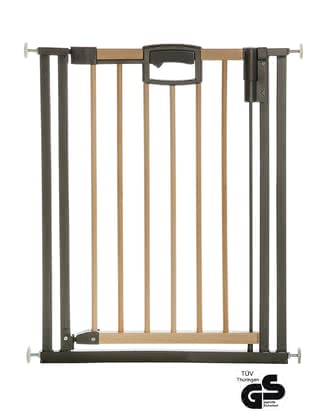 Geuther Baby Gate Easylock Wood Plus+ -  * As soon as the little ones are at the age in which they love to discover new things at home, the most important thing for all parents is to know that their child is still well and safe.