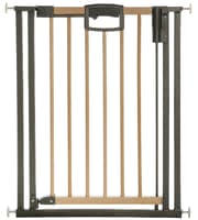 Geuther Door gate Easylock Wood, natural/silver 2792