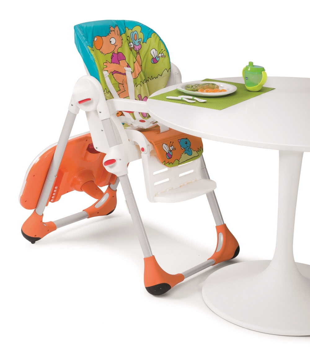 ... Chicco Highchair Polly 2in1 Happy Land 2016   Large Image 2 ...
