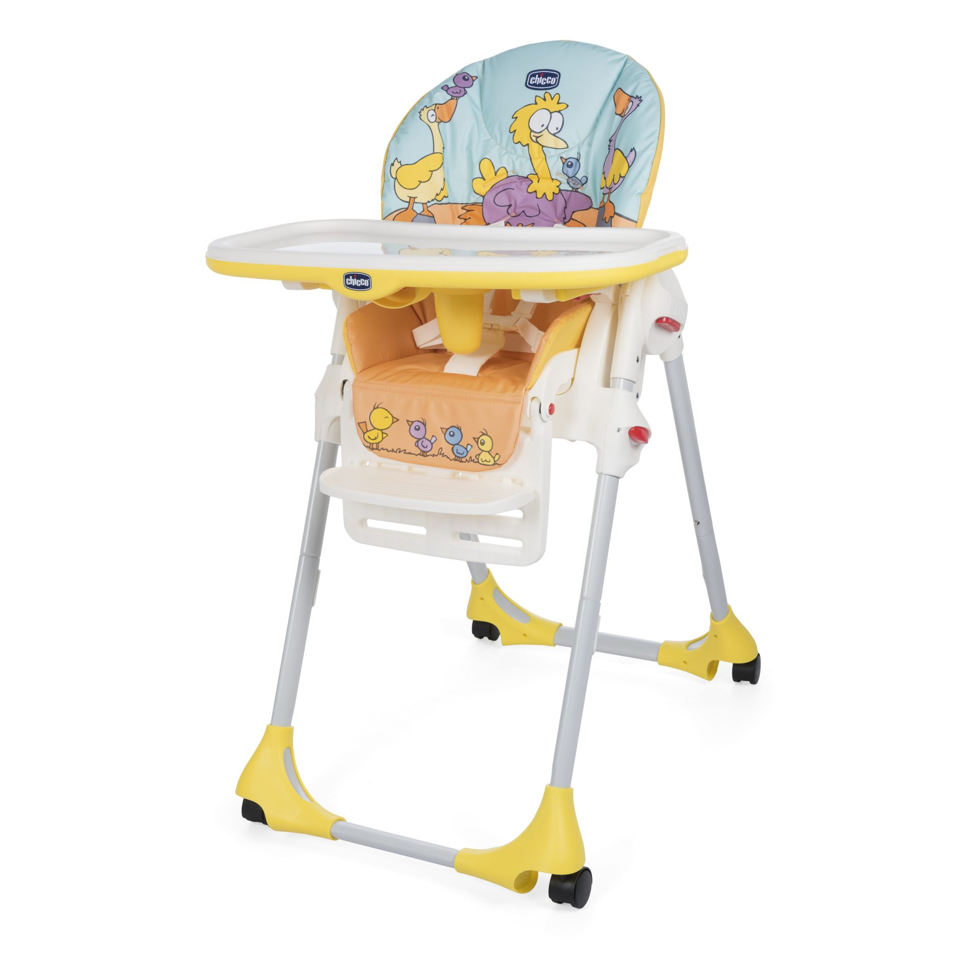 Chicco Highchair Polly 2in1 BIRDLAND 2016   Large Image 1 ...