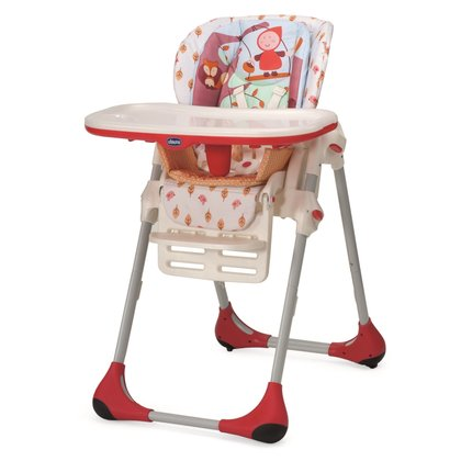 Chicco Highchair Polly 2in1 Happy Land 2016 - large image