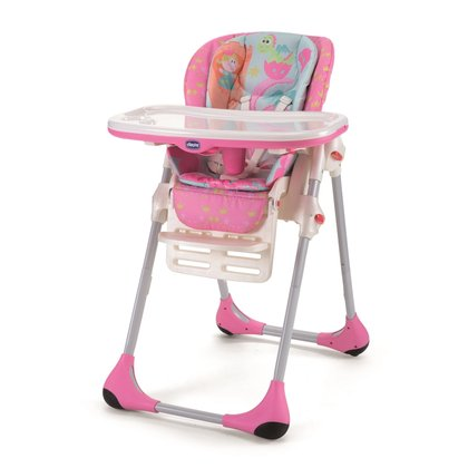 Chicco Highchair Polly 2in1 Princess 2014 - large image
