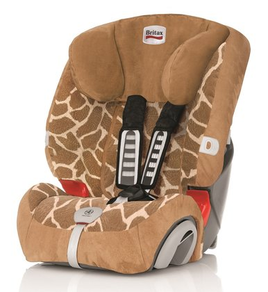BritaxRömer Child car seat Evolva 1-2-3 Plus Highline Big Giraffe 2016 - large image