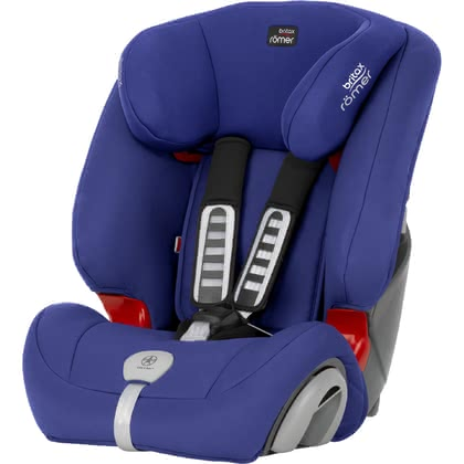 Britax Römer child car seat Evolva 1-2-3 Plus Ocean Blue 2017 - large image