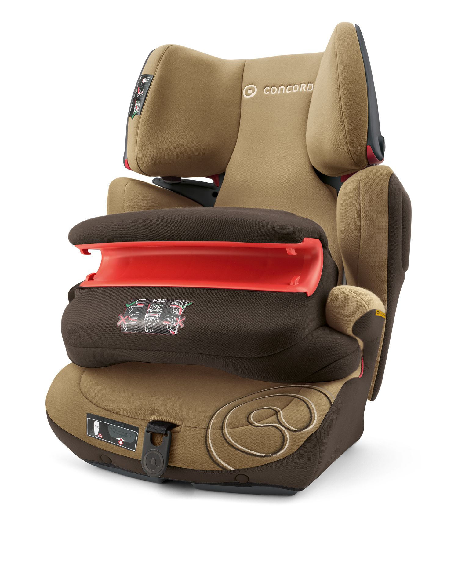 concord child car seat transformer pro 2017 walnut brown buy at