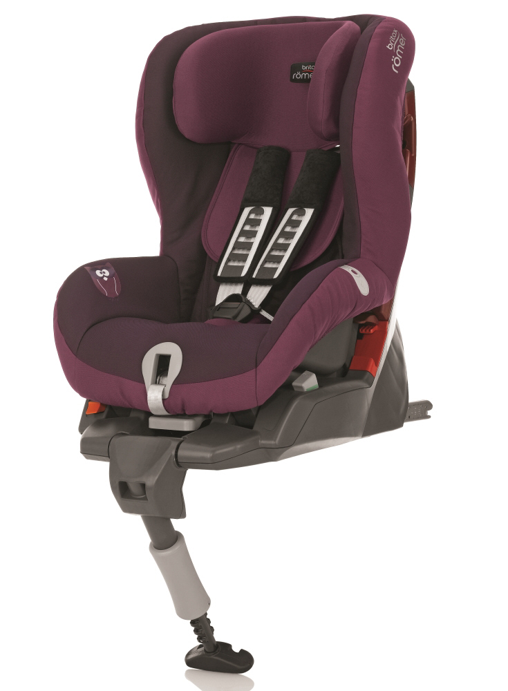 britax r mer child car seat safefix plus 2015 dark grape. Black Bedroom Furniture Sets. Home Design Ideas