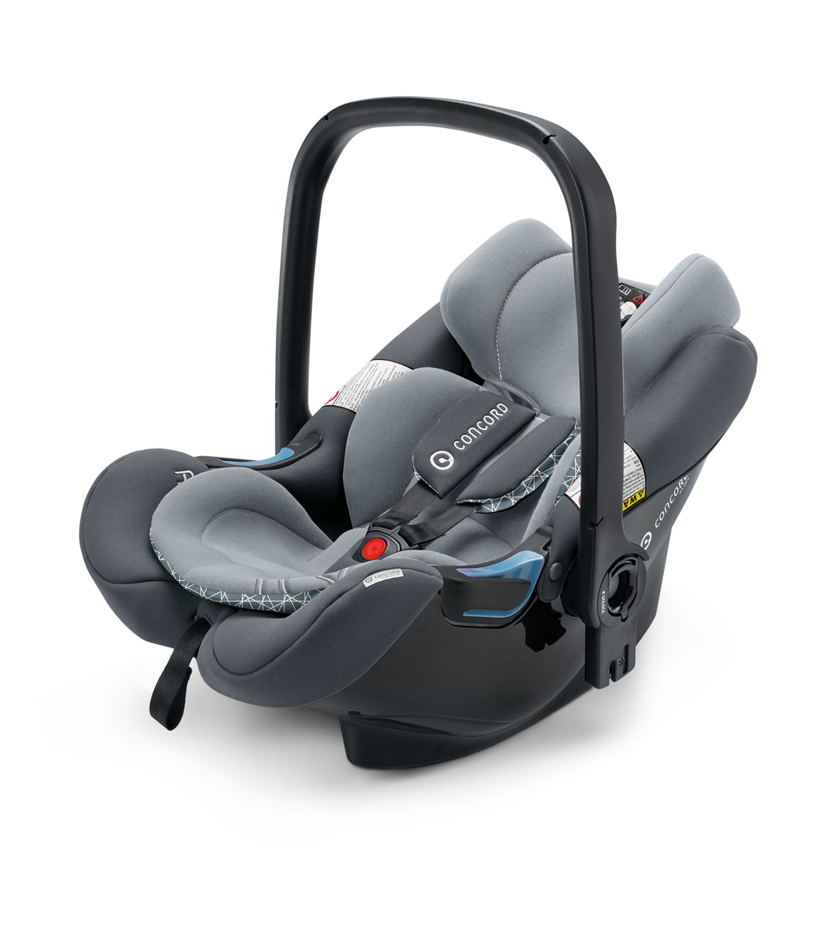 Concord Infant Car Seat AIR.SAFE 2018 Steel Grey