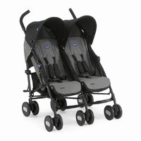 Chicco Double Buggy Echo Twin -  * The Chicco twin stroller Echo Twin is agile, easy to use and offers plenty of seating and reclining comfort for your little darlings.