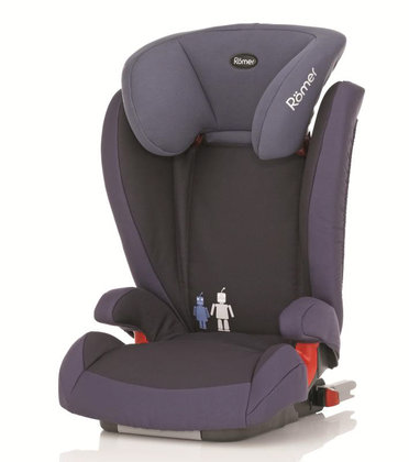 Römer car seat Kidfix Trendline Crown Blue 2014 - large image