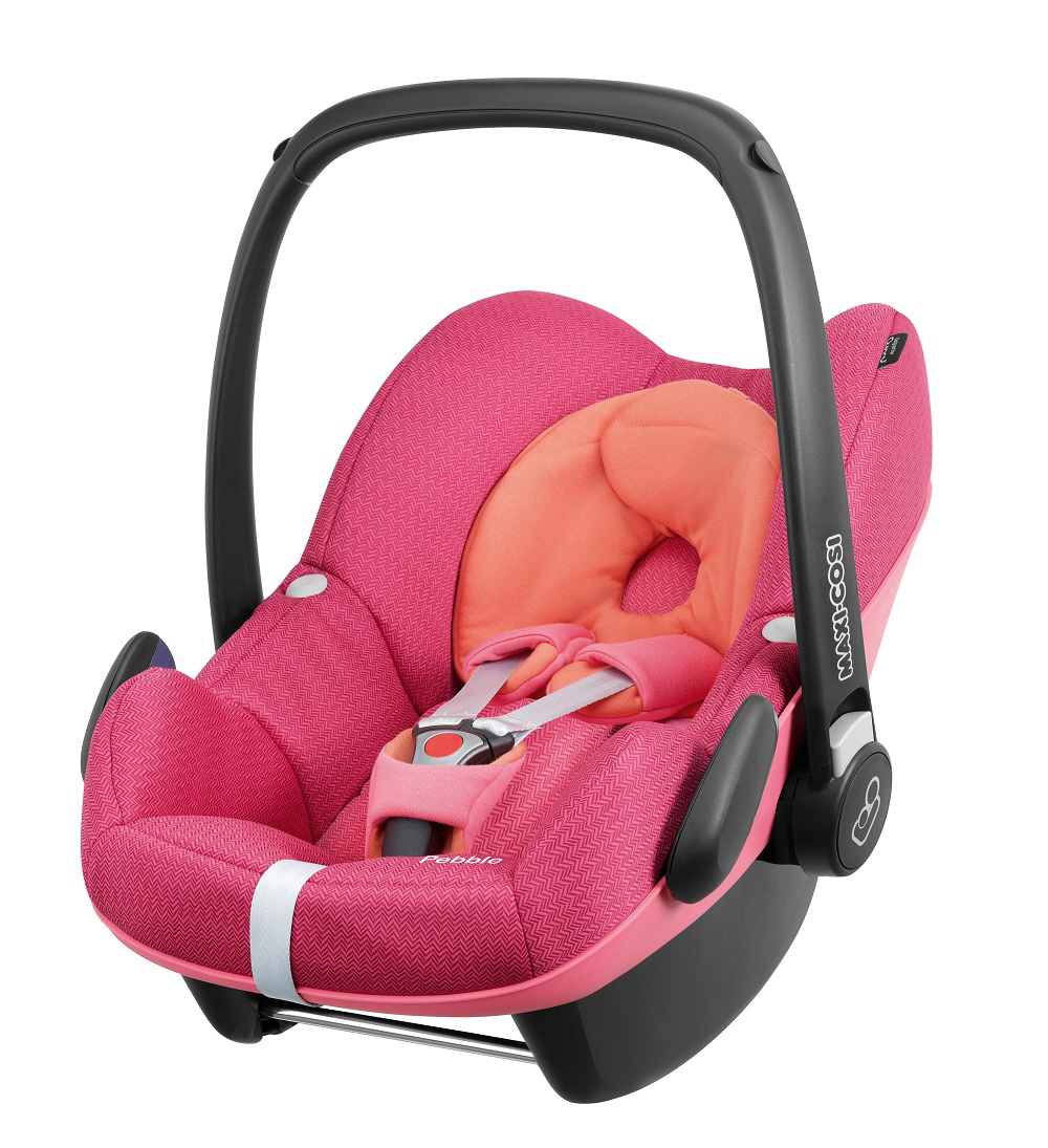 Quality Carseat Rain Cover for Maxi Cosi Cabrio and Pebble Family Fix pink