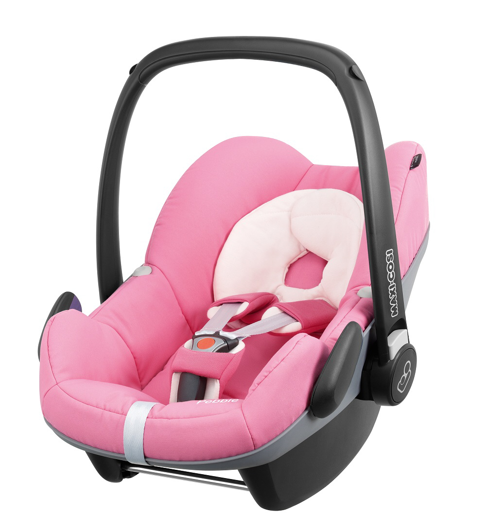 maxi cosi infant car seat pebble 2014 pink precious buy at kidsroom car seats. Black Bedroom Furniture Sets. Home Design Ideas