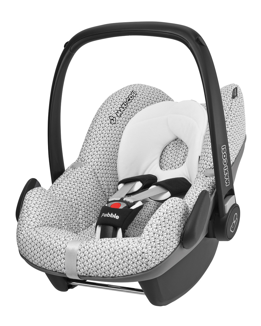 maxi cosi infant carrier pebble 2014 graphic crystal buy at kidsroom car seats. Black Bedroom Furniture Sets. Home Design Ideas