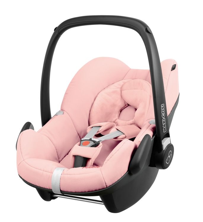 maxi cosi infant car seat pebble 2016 pink pastel buy at kidsroom car seats. Black Bedroom Furniture Sets. Home Design Ideas