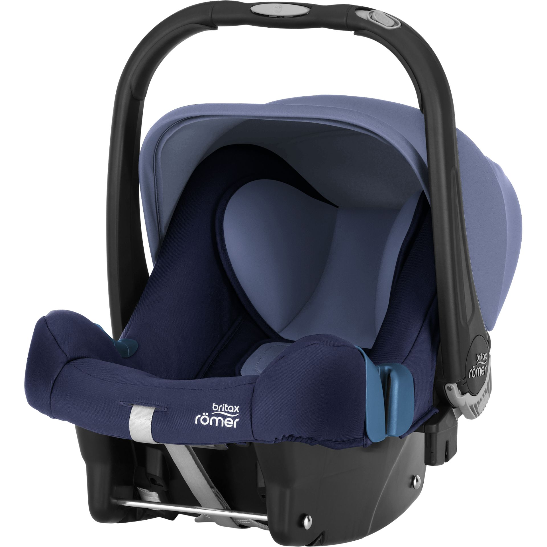 britax r mer infant car seat baby safe plus shr ii 2018 moonlight blue buy at kidsroom car seats. Black Bedroom Furniture Sets. Home Design Ideas