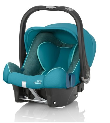 Britax Römer Infant Car Seat Baby Safe Plus SHR II Green Marble 2017 - large image