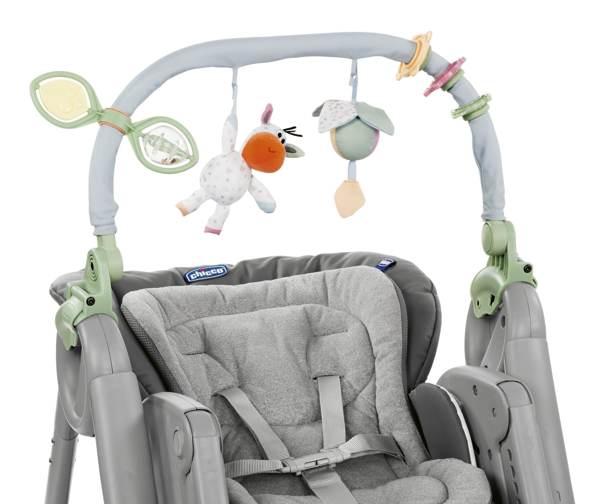 chicco highchair polly magic relax 2018 dove grey buy at. Black Bedroom Furniture Sets. Home Design Ideas
