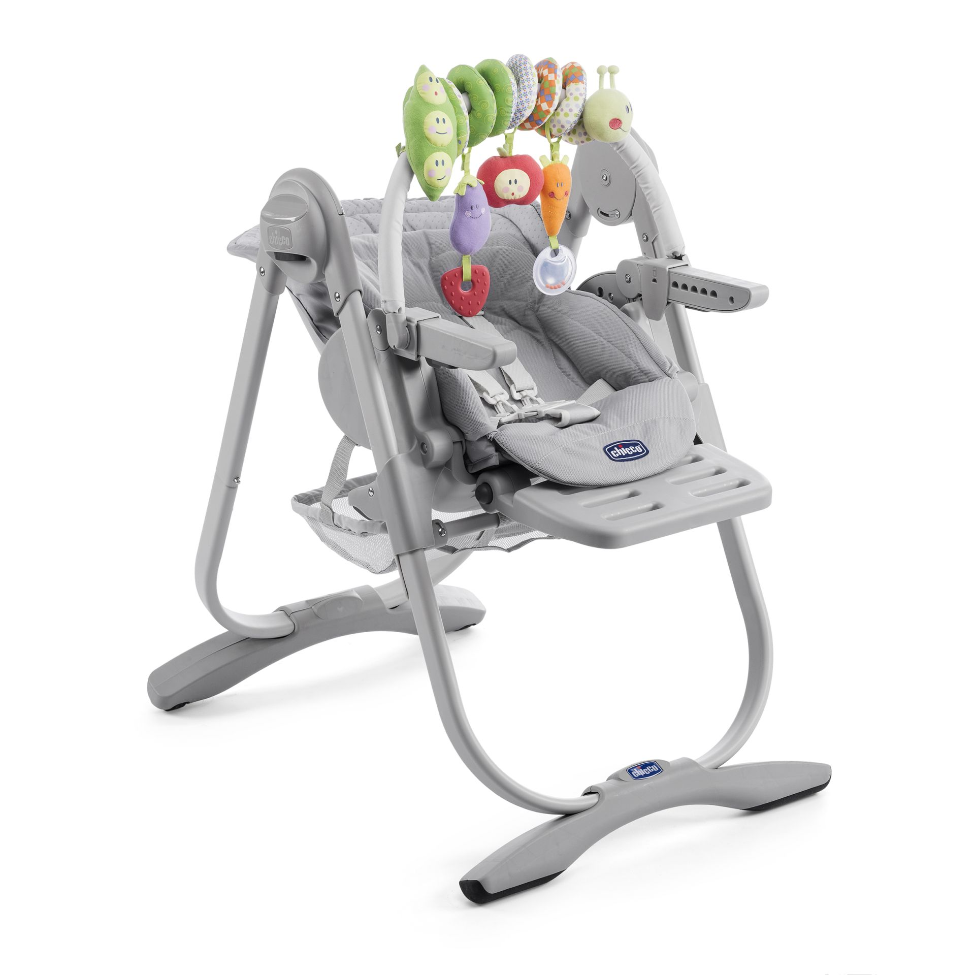 Chicco highchair polly magic relax 2017 light grey buy - Chaise chicco polly magic 3 en 1 ...