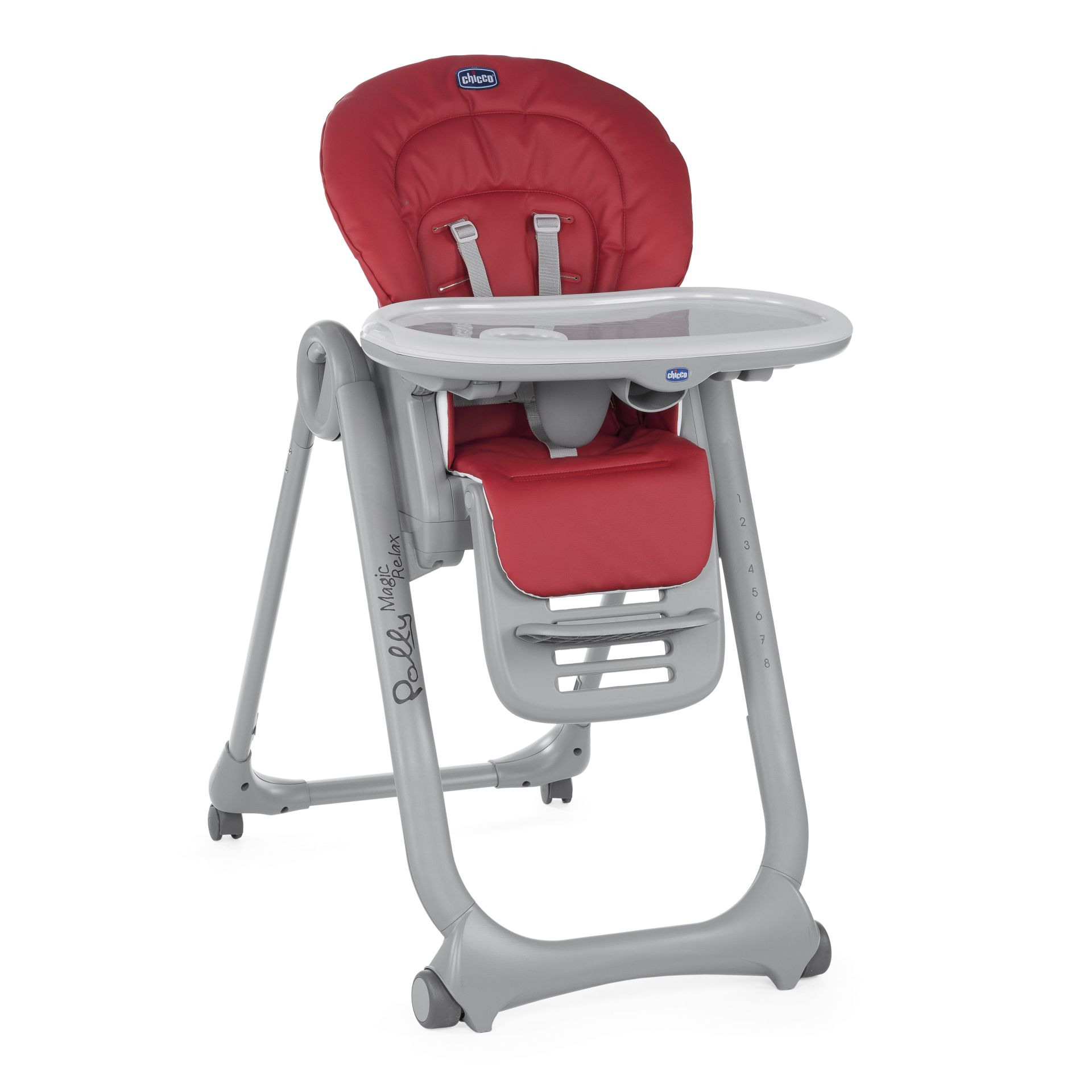 Superbe Chicco Highchair Polly Magic Relax RED 2018   Large Image 1 ...