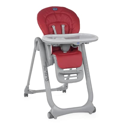 Chicco Highchair Polly Magic Relax RED 2018 - large image