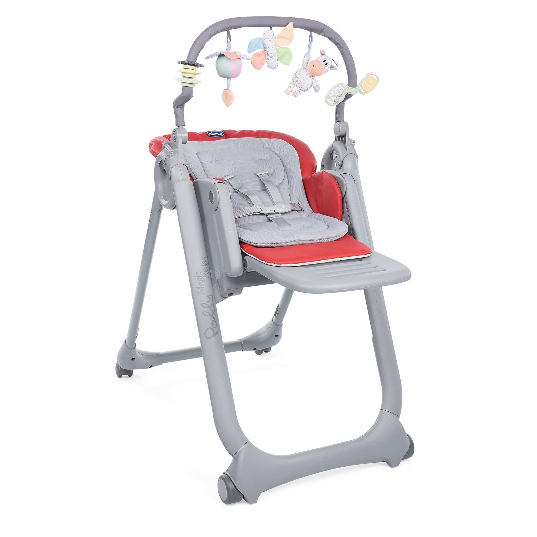 Chicco Highchair Polly Magic Relax 2019 Scarlet Buy At Kidsroom