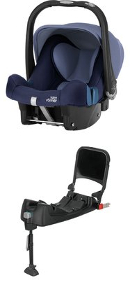 Britax Römer Infant Car Seat Baby-Safe Plus SHR II including Isofix Base - * The set included the baby car seat Britax Römer Baby Safe Plus SHR II and the Britax Römer Baby-Safe ISOFIX Base - for more safety for your darling