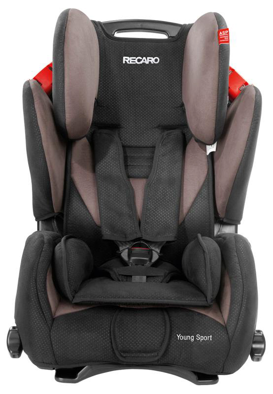 RECARO Child Car Seat Young Sport Mocca 2014   Large Image 1 ...