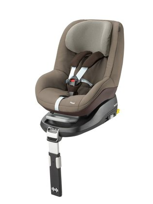 Maxi-Cosi Pearl incl. FamilyFix base Earth Brown 2016 - large image