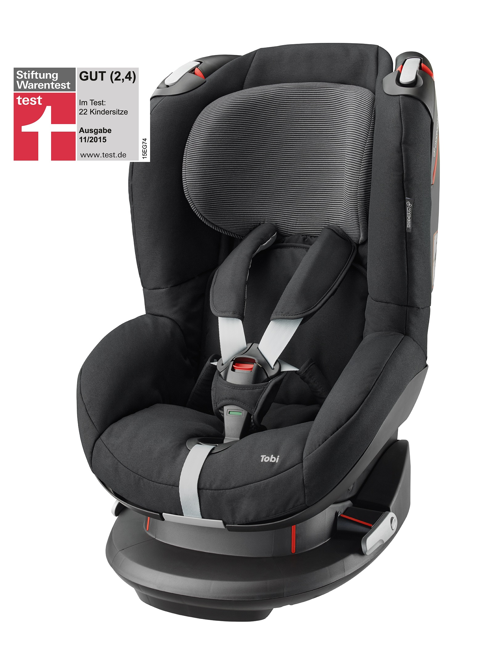 maxi cosi child car seat tobi 2017 black raven buy at kidsroom car seats. Black Bedroom Furniture Sets. Home Design Ideas