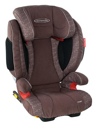 STM Storchenmühle car seat Solar Seatfix chocco 2015 - large image