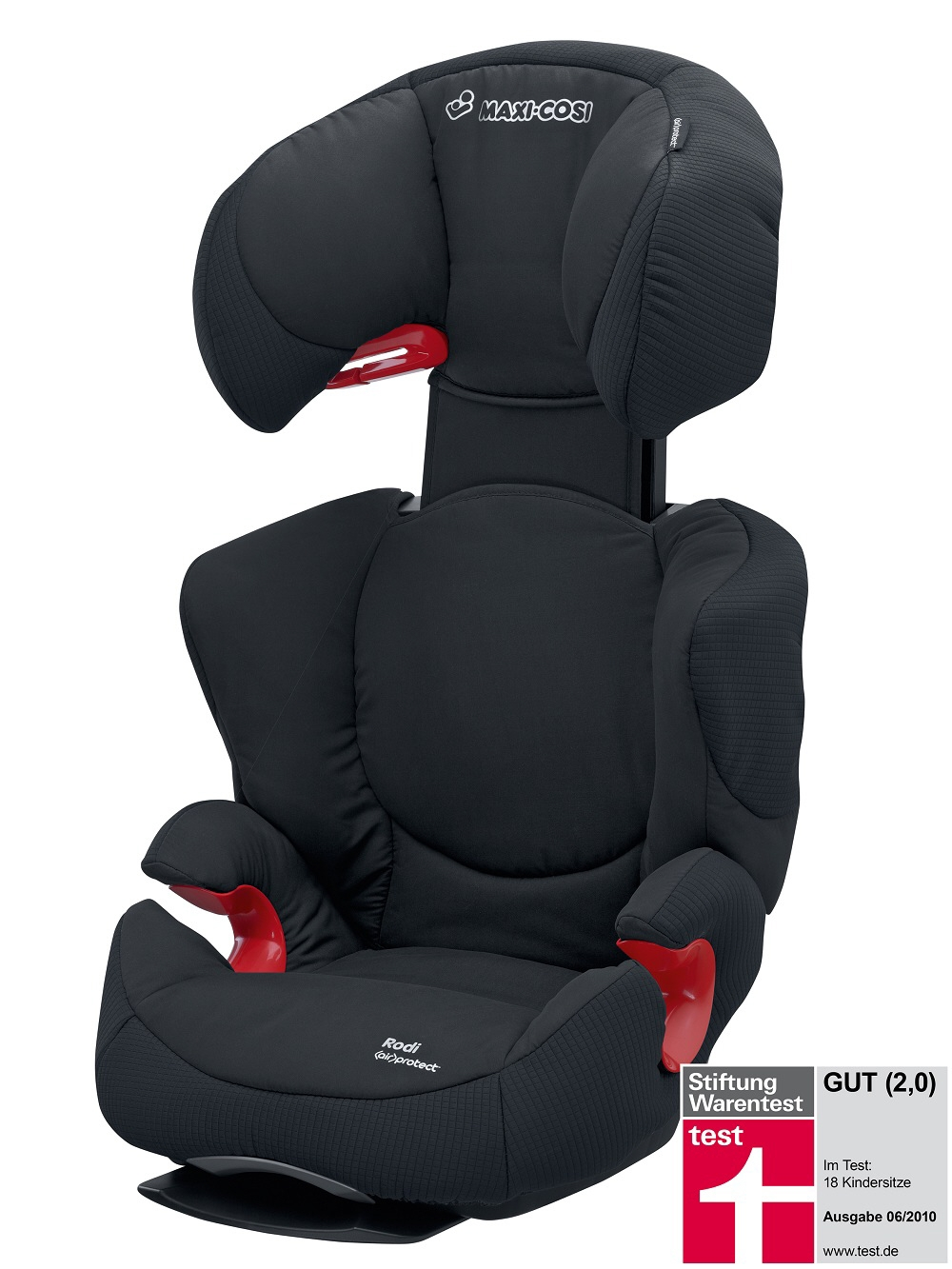 maxi cosi child car seat rodi air protect 2014 total black buy at kidsroom car seats. Black Bedroom Furniture Sets. Home Design Ideas
