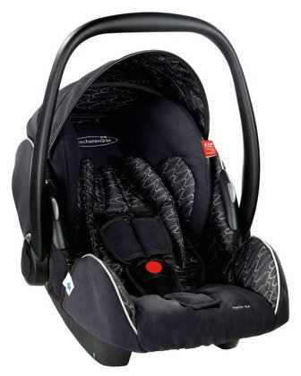 STM Storchenmühle Twin 0+ infant carrier midnight 2015 - large image