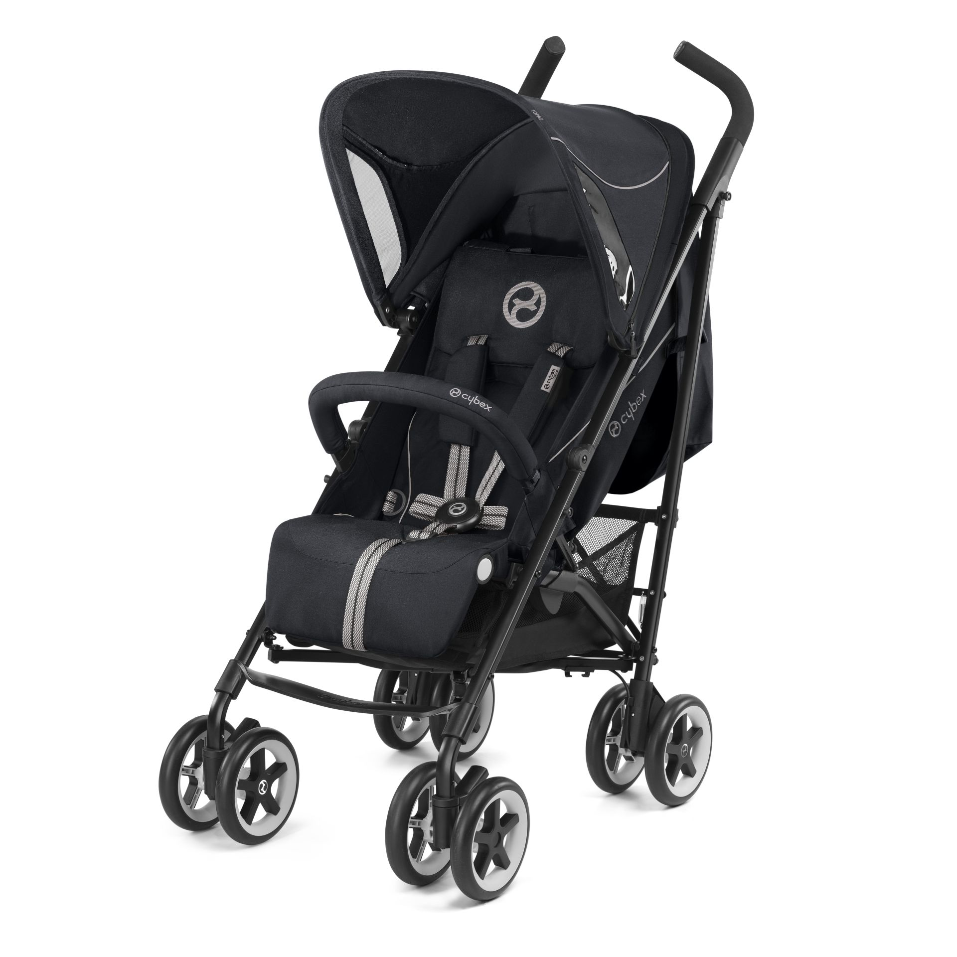 cybex buggy topaz 2017 stardust black black buy at kidsroom strollers. Black Bedroom Furniture Sets. Home Design Ideas