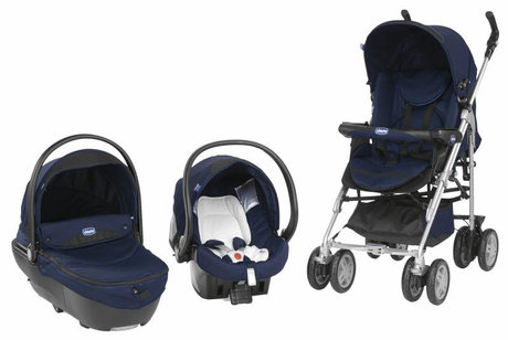 Chicco Trio-System Scoop Deep Blue 2013 - large image