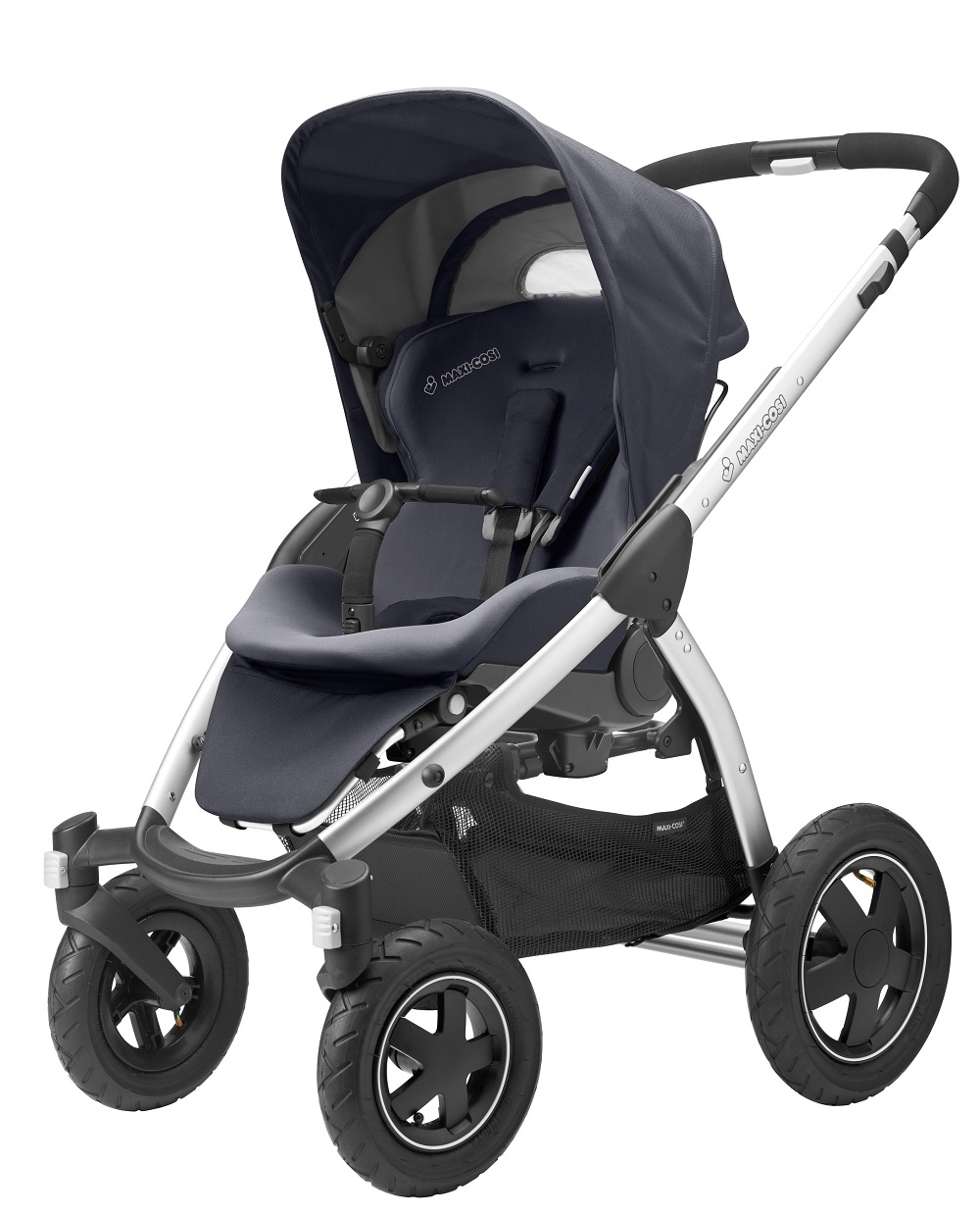 maxi cosi mura 4 stroller 2015 total black buy at kidsroom strollers. Black Bedroom Furniture Sets. Home Design Ideas
