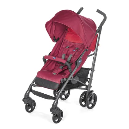 Chicco Pushchair Lite Way 3 RED BERRY 2019 - large image