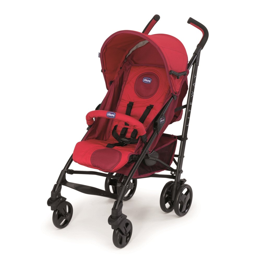Chicco Lite Way 3 pushchair 2015 Red - Buy at kidsroom