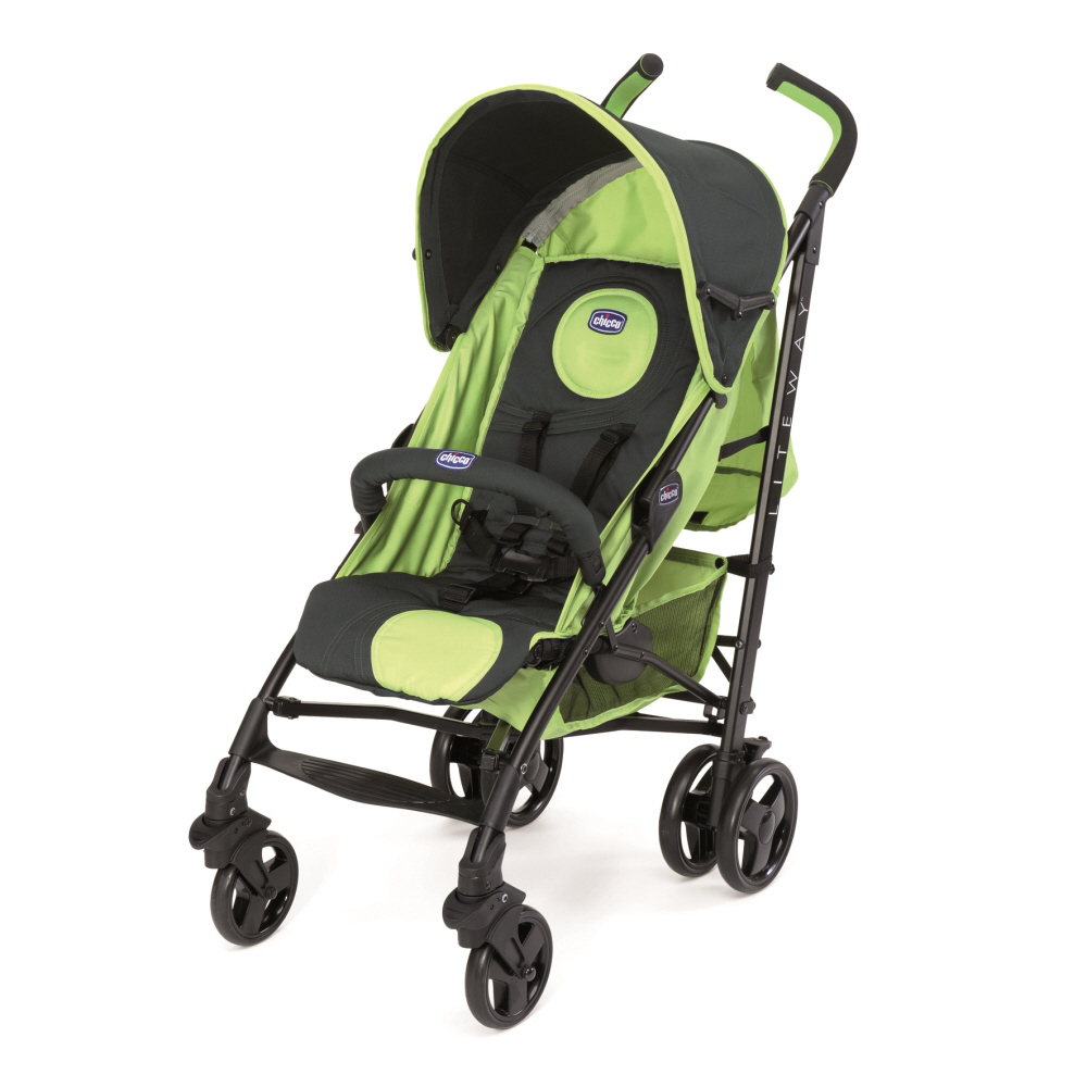 chicco pushchair lite way 3 2015 evergreen buy at kidsroom strollers. Black Bedroom Furniture Sets. Home Design Ideas