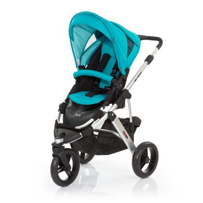 ABC Design Cobra incl. sport seat and hard carrycot coral 2015 - large image