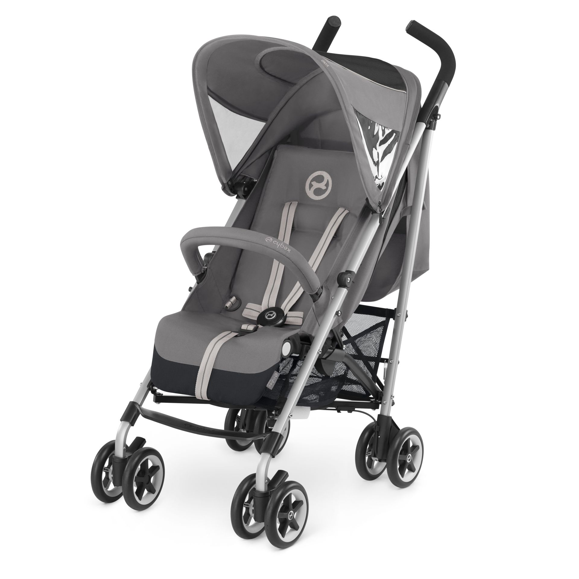 cybex buggy onyx 2017 manhattan grey mid grey buy at. Black Bedroom Furniture Sets. Home Design Ideas