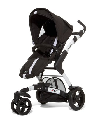 ABC Design 3-Tec incl. pushchair attachment and hard carrycot granit 2014 - large image