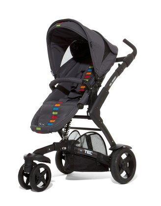 ABC Design 3-Tec incl. pushchair attachment and hard carrycot multicolor 2014 - large image