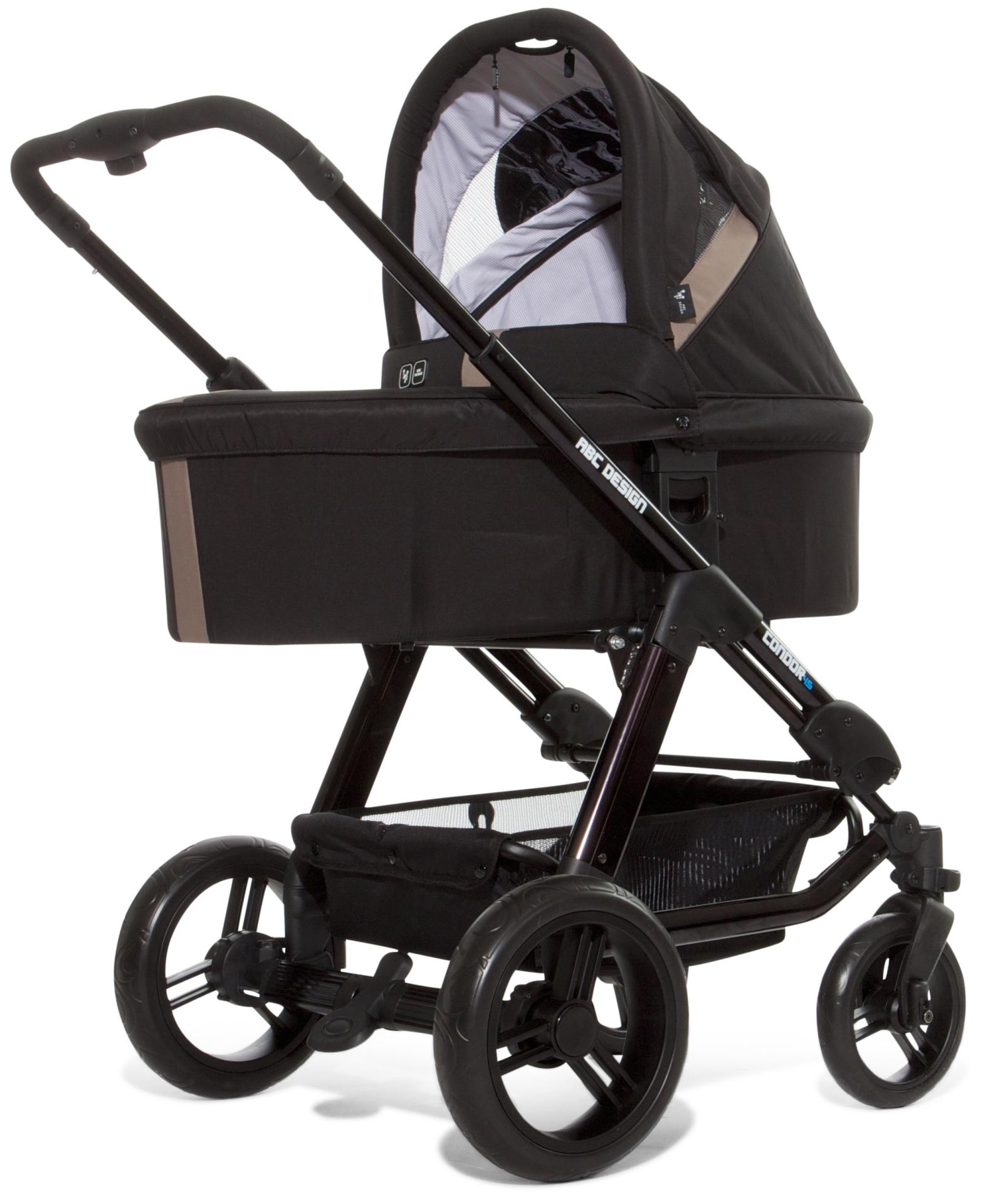 ABC Design Condor 4S Cochecito con silla para el coche y cuna ...