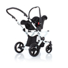 ABC Design Avus incl. carrycot 3in1 2013 white-black - large image 3