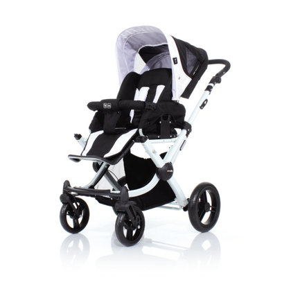 ABC Design Avus incl. carrycot 3in1 2013 white-black - large image