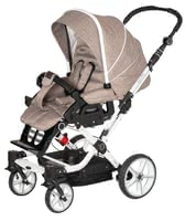 Hartan Stroller Topline S - * The Hartan Topline S offers thanks to the lockable swivel front wheels a lot of mobility and comfort* In all colors of the collection 2012 available