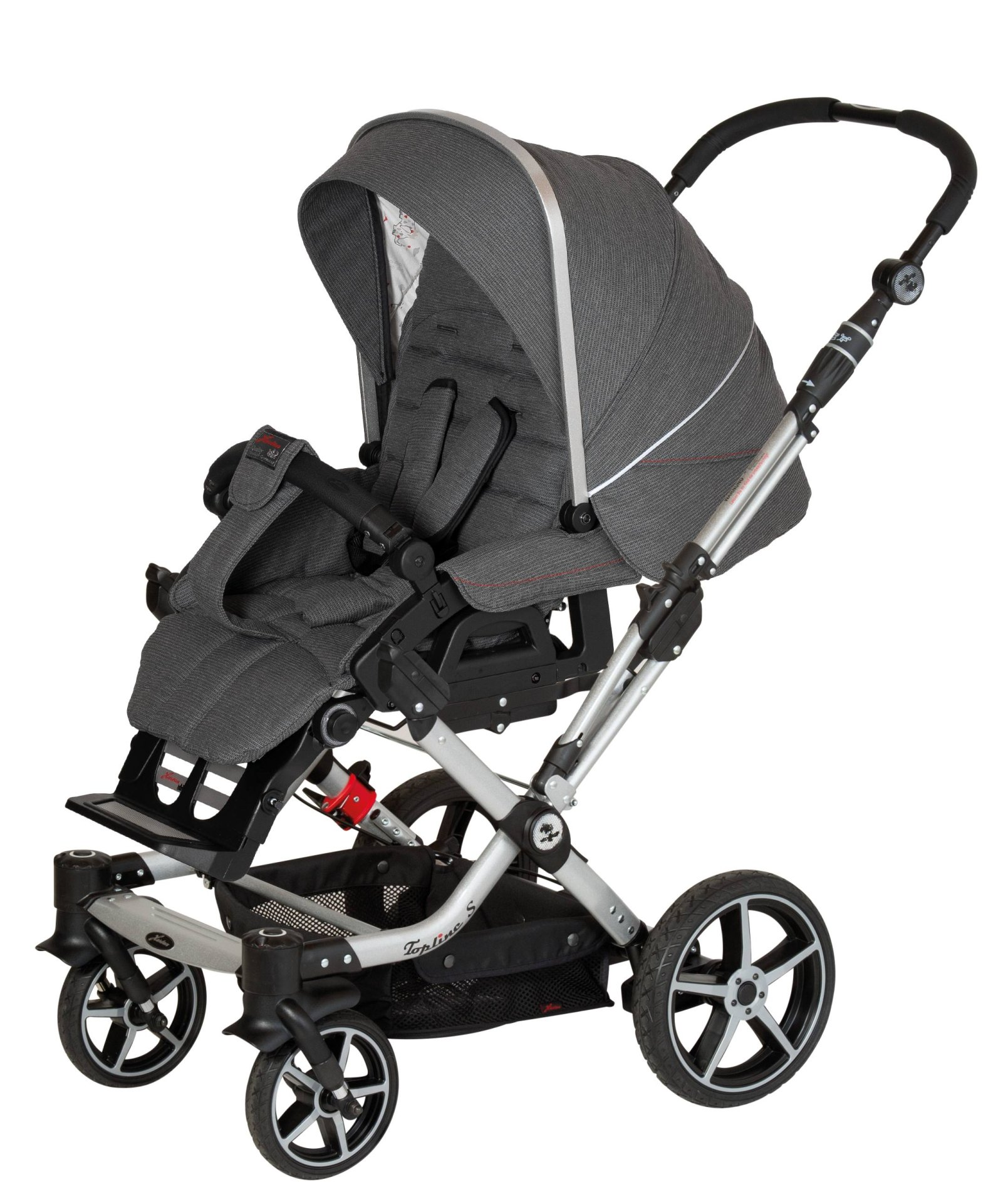 hartan stroller topline s 2019 624 elefant buy at. Black Bedroom Furniture Sets. Home Design Ideas