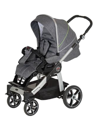 Hartan Stroller Racer GT - * The Hartan Racer GT stands out with its perfect design, lightness and its practical and small folded dimensions