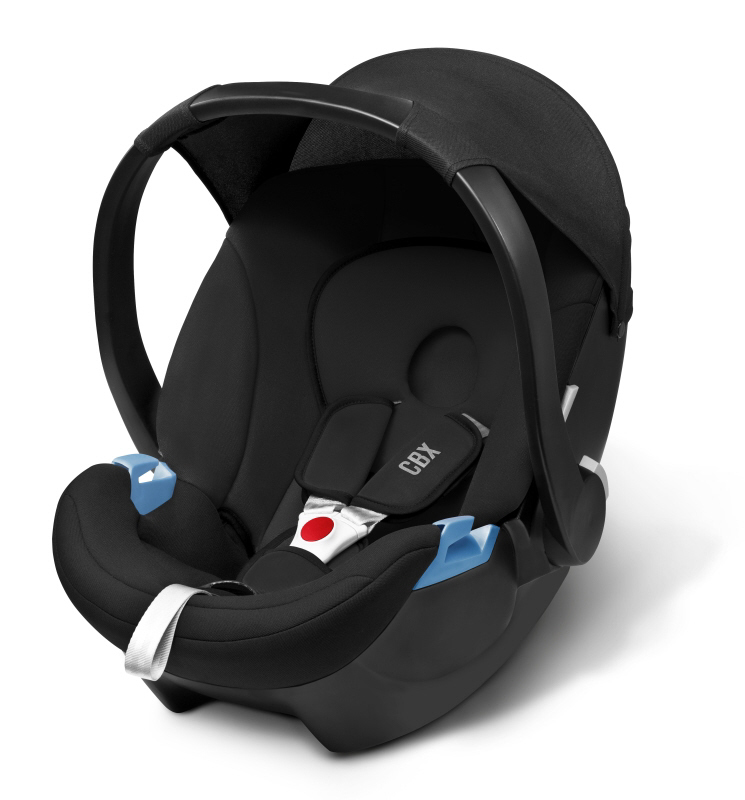 cbx by cybex infant car seat aton basic 2018 pure black. Black Bedroom Furniture Sets. Home Design Ideas