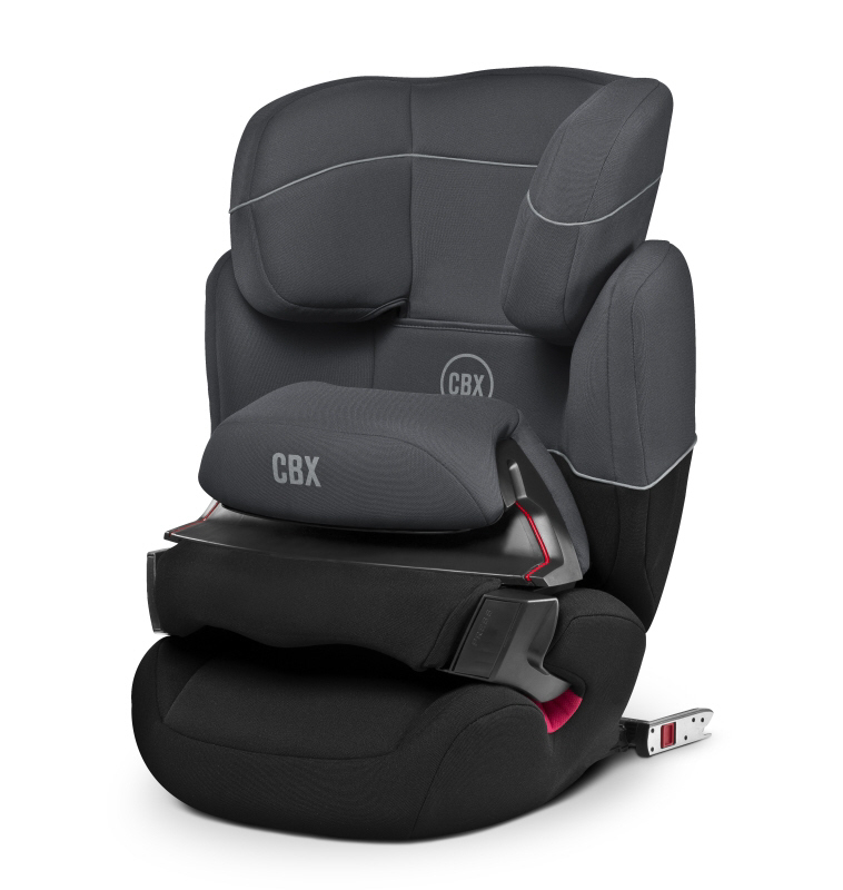 cbx by cybex child car seat aura fix 2017 cobblestone. Black Bedroom Furniture Sets. Home Design Ideas
